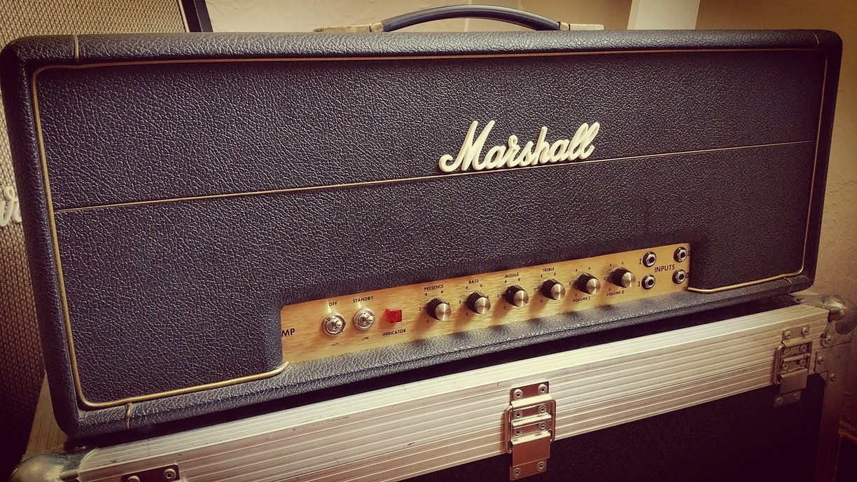 Marshall Super Bass 1970,retubage EL34,installation PPIMV